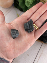 Load image into Gallery viewer, Black Tourmaline Piece | Raw Black Tourmaline Crystal