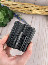 Load image into Gallery viewer, Raw Black Tourmaline Crystal