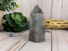 Load image into Gallery viewer, Black Tourmaline & Quartz Crystal Tower | Crystal Healing Generator Points