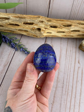 Load image into Gallery viewer, Lapis Lazuli Egg | Blue Crystal Egg