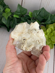 Apophyllite with Stilbite Cluster