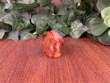 Load image into Gallery viewer, Carnelian Skull