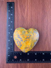 Load image into Gallery viewer, Bumblebee Jasper Heart