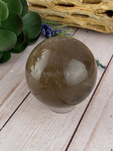 Load image into Gallery viewer, Smoky Quartz Sphere | Quartz Crystal Ball