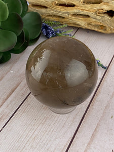 Smoky Quartz Sphere | Quartz Crystal Ball