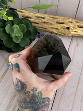 Load image into Gallery viewer, Smoky Quartz Crystal Tower | Quartz Generator Point