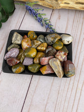Load image into Gallery viewer, Ocean Jasper Tumbled Stone (1)