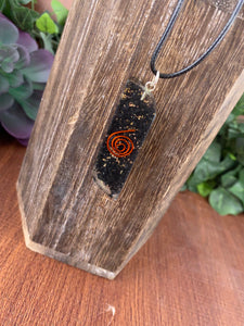 Shungite Orgone Necklace