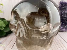 Load image into Gallery viewer, Smoky Quartz Skull | 14 pounds!!! Huge Quartz Crystal Skull
