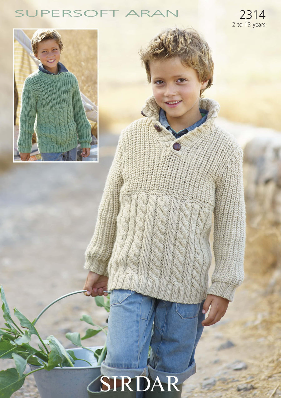 2314 PDF Supersoft Aran - emmshaberdasheryshop