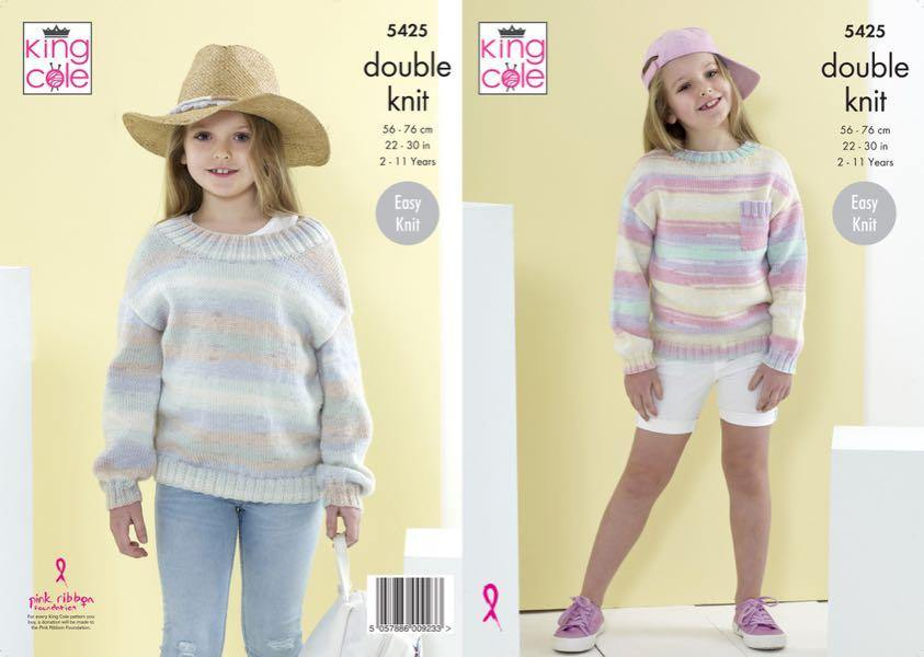 King Cole Beaches Pattern 5425 - emmshaberdasheryshop