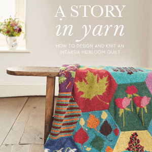 Dee Hardwick A Story in Yarn Front Cover