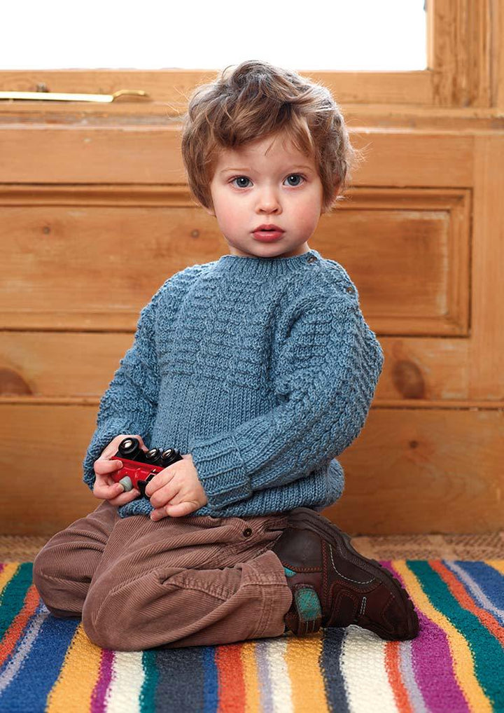 bond in the just baby book by rowan yarns