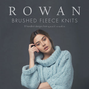 Rowan Brushed Fleece Knits Front Cover