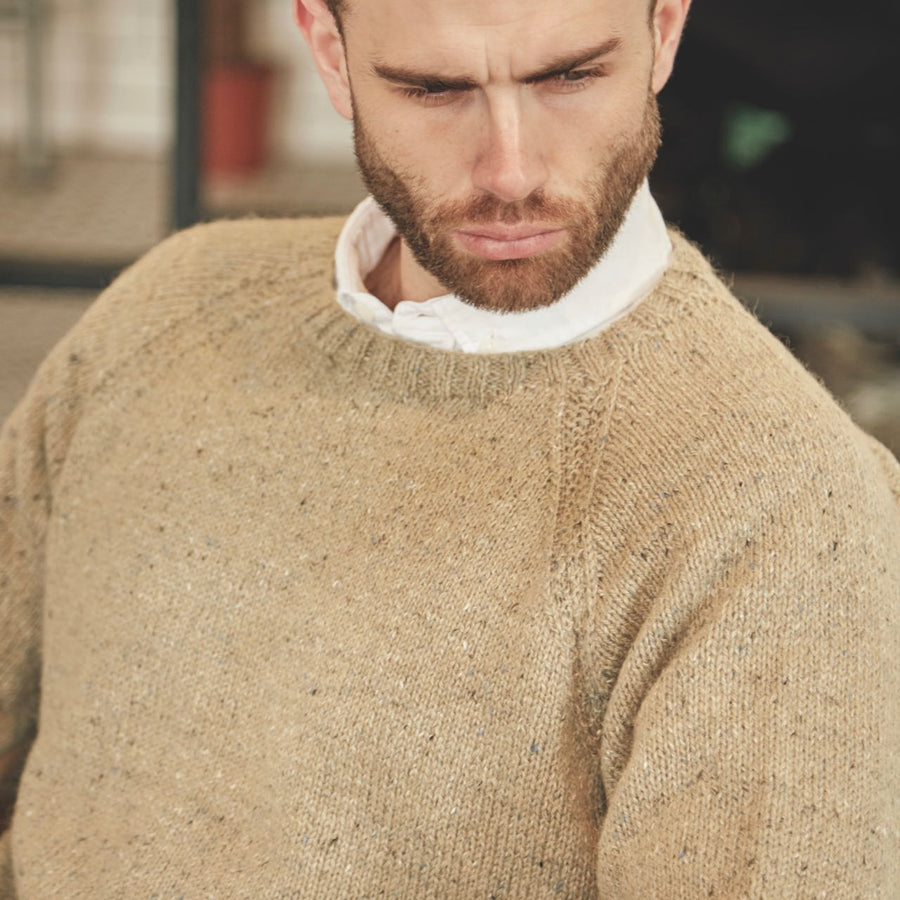 Caine Rowan Journey Man Knitting Pattern Book