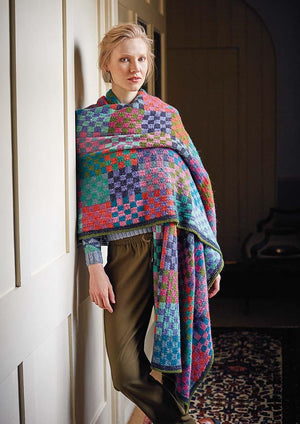 Checkerboard - From Kaffe's Colours by Kaffe Fassett - emmshaberdasheryshop