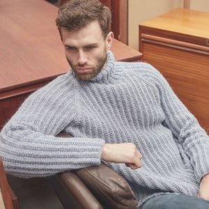 Cooper Rowan Journey Man Knitting Pattern Book