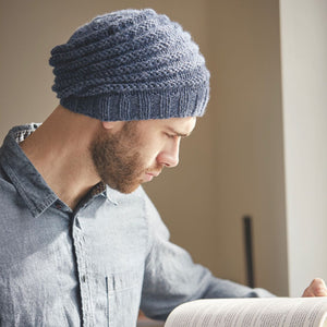 Eastwood Hat Rowan Journey Man Knitting Pattern Book