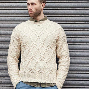 Heston Rowan Journey Man, mens Knitting Pattern