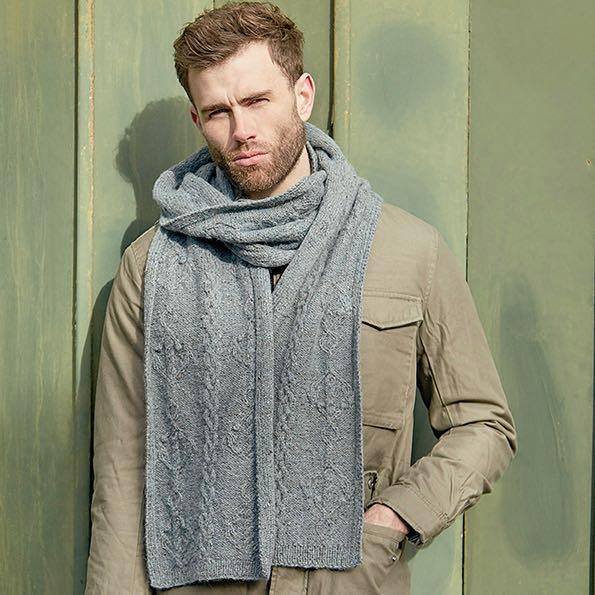 Hudson Scarf - From Rowan Journey Man by Martin Storey PDF Download - emmshaberdasheryshop