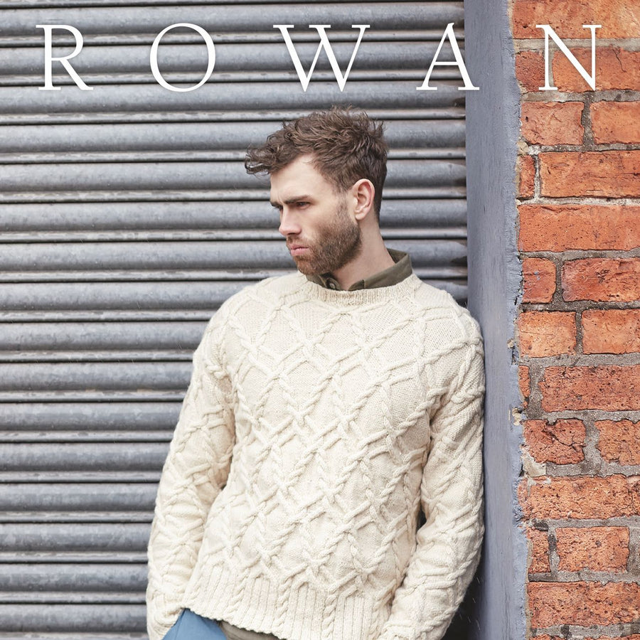Rowan Journey Man Knitting Pattern Book Front Cover