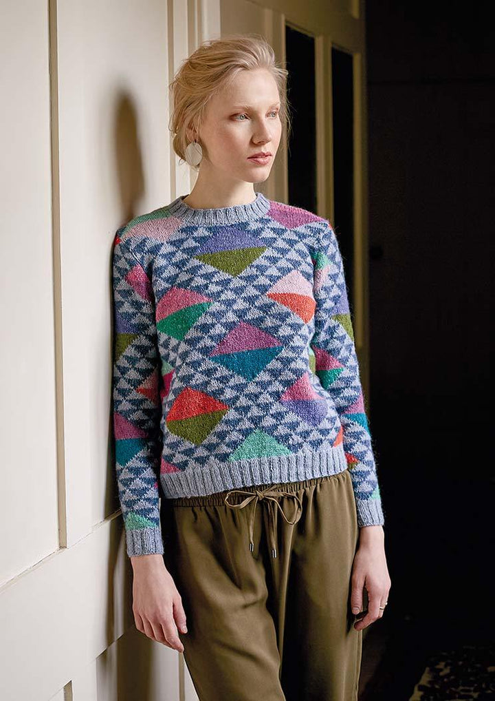 Lady of the lake kaffe Fassett Rowan yarn Knitting pattern