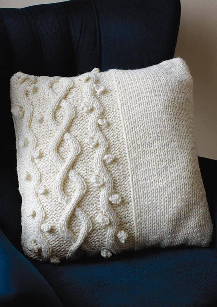 Ric Rac cushion from Rowan at home, Martin Storey
