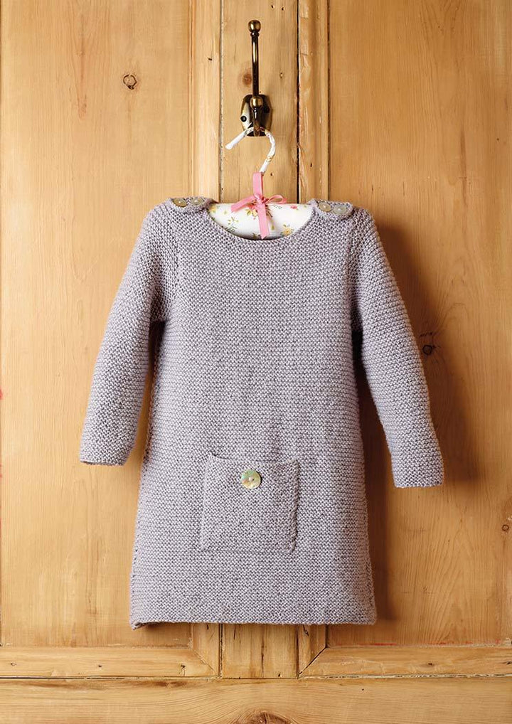 Girls Dress knitting pattern