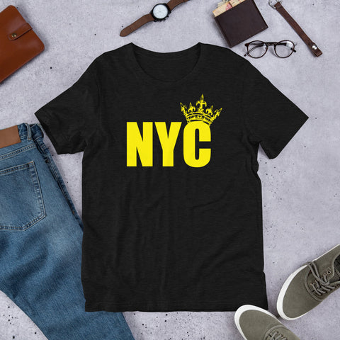 NYC Crown Me King Short-Sleeve Unisex T-Shirt