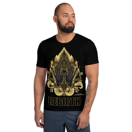 REBIRTH - All-Over Print Men's Athletic T-shirt
