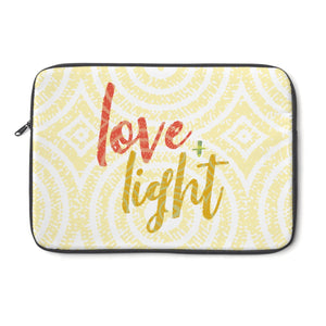 Love & Light Laptop Sleeve