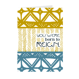Reign Blank Inspirational Cards