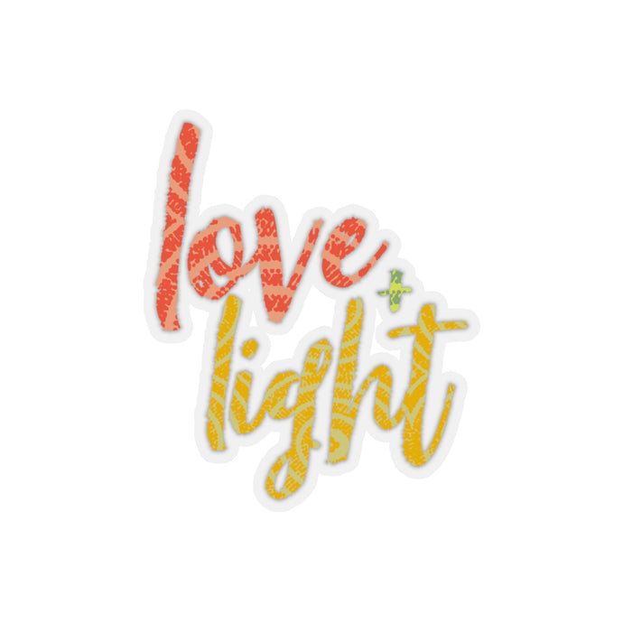 Love and Light Favored Kiss-Cut Stickers