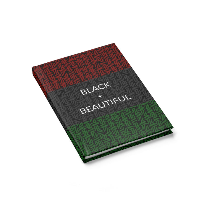Black + Beautiful Journal - Ruled Line