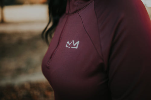 Women's Royalty Crown Quarter Zip