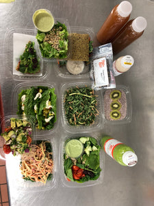 9-Day Plant-Based Food & Raw Juice Package