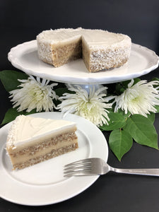 Coconut Dream Torte - slice