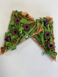Veggie Pizza with Almond Crust