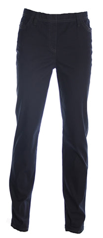 Michèle - Broek Magic - Elastiek rondom - Blue black