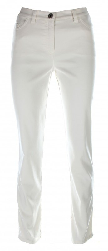 Michèle - Broek Magic - Off white - Korte lengte