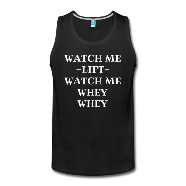Men's Watch Me Lift Tank - DropSetFit
