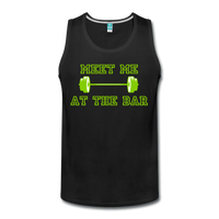 Men's Premium Meet Me At The Bar Tank - DropSetFit