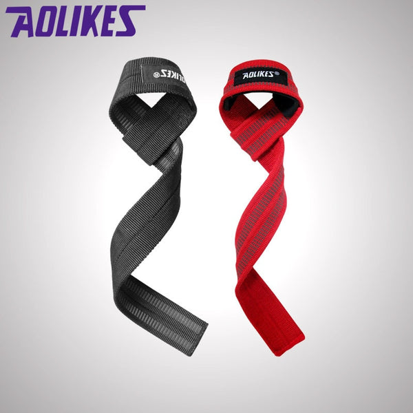 1 Pair Men Weightlifting Straps - DropSetFit