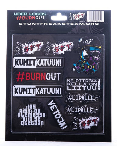 Burnout sheet
