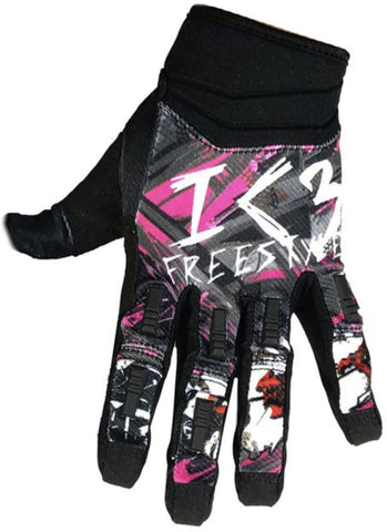 I Love Freestyle Gloves, Black
