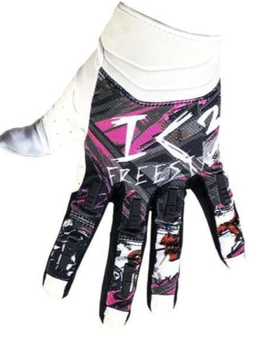 I Love Freestyle Gloves, White