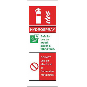 Aluminium Hydrospray Sign