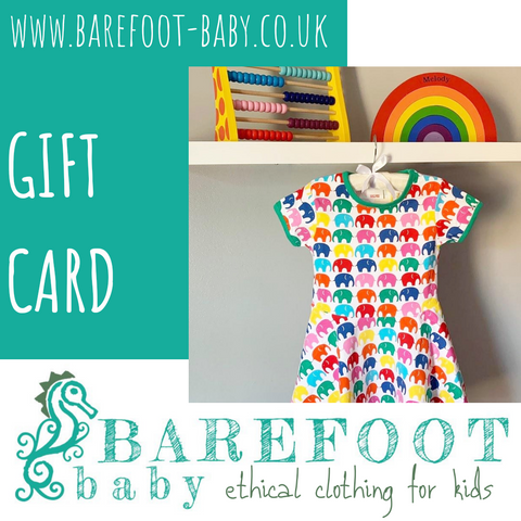 Barefoot Baby Gift Card