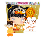 Bags of Imagination Book & Toy Set - Alice the Amber Fairy