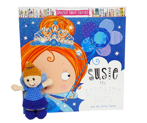 Bags of Imagination Book & Toy Set - Suzie the Sapphire Fairy